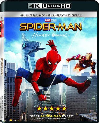 Spider-man Homecoming- 4K Bluray