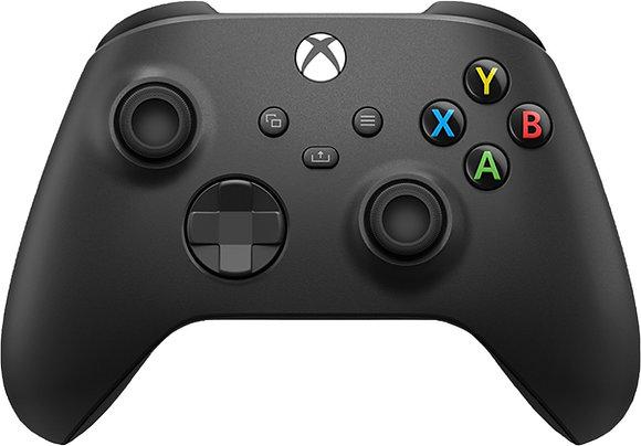 Microsoft - Controller for Xbox Series X, Xbox Series S, Xbox One - Carbon Black