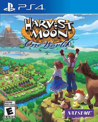 Natsume Harvest Moon: One World (PS4) - PlayStation 4