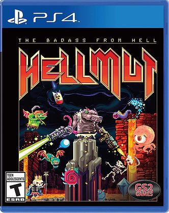 Hellmutt: Game Solutions 2 The Badass From Hell - PlayStation 4