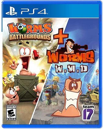 Worms Battleground + Worms - PlayStation 4