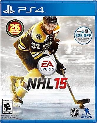NHL 15 - PlayStation 4