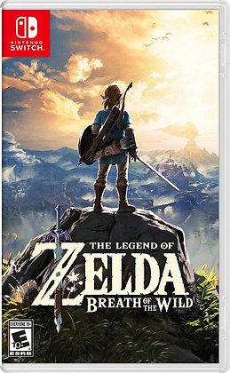 The Legend of Zelda Breath of The Wild (NSW) - Switch