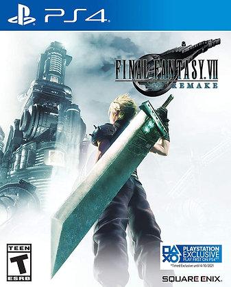 Final Fantasy VII: Remake (PS4) - PlayStation 4