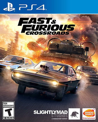 Fast & Furious Crossroads (PS4) - PlayStation 4
