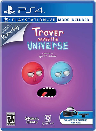 Trover Saves the Universe - PlayStation 4