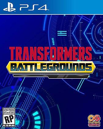 Transformers: Battlegrounds (PS4) - PlayStation 4