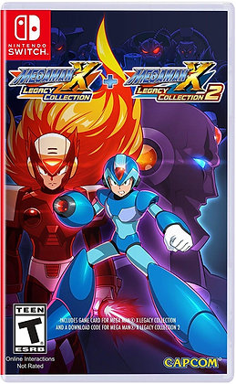 Mega Man X Legacy Collection 1+2 (NSW) - Switch Standard Edition