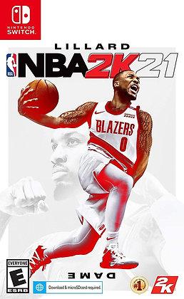 NBA 2K21 (NSW) - Nintendo Switch