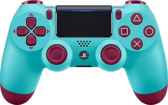 DualShock 4 Wireless Controller for PlayStation 4 (PS4) - Berry Blue