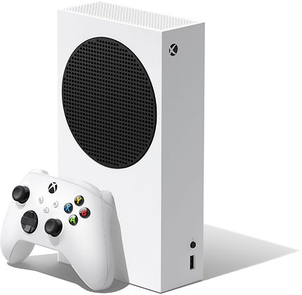 Microsoft - Xbox Series S 512 GB All-Digital Console (Disc-free Gaming) - White