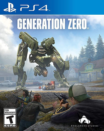 Generation Zero - PS4 - PlayStation 4