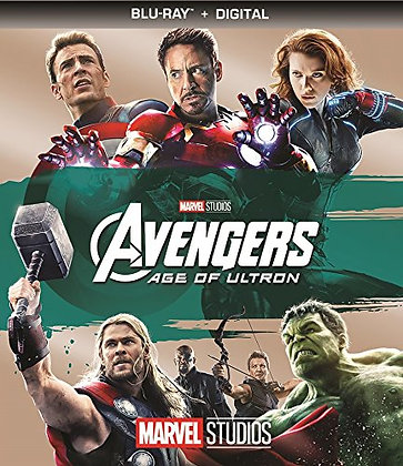 Marvel The Avengers Age Of Ultron Bluray+Digital