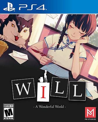 WILL: A Wonderful World - PlayStation 4