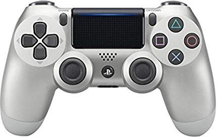 DualShock 4 Wireless Controller for PlayStation 4 (PS4) - silver
