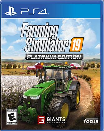 Farming Simulator 19 Platinum Edition - PlayStation 4