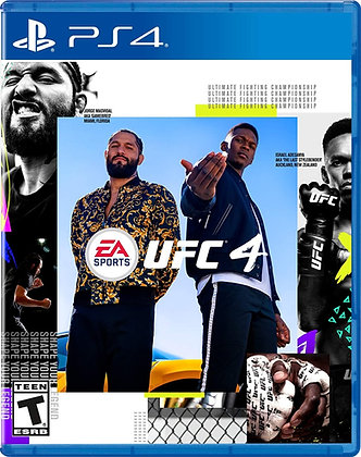 EA SPORTS UFC 4 (PS4) - PlayStation 4