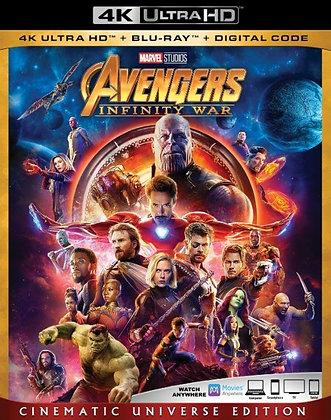 Marvel Avengers Infinity War- 4K Ultra HD