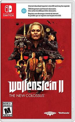 Wolfenstein II: The New Colossus (NSW) - Nintendo Switch