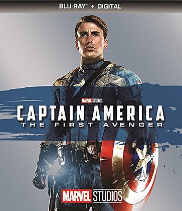 Captain America The First Avengers Bluray