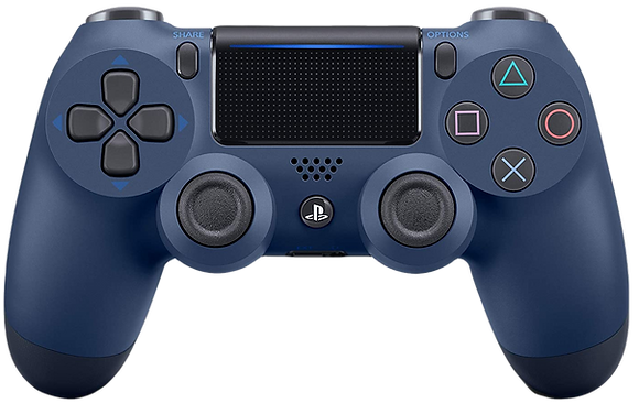 DualShock 4 Wireless Controller for PlayStation 4 (PS4) - Midnight Blue