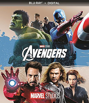Marvel The Avengers Bluray+Digital