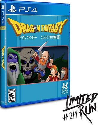 Dragon Fantasy - PlayStation 4
