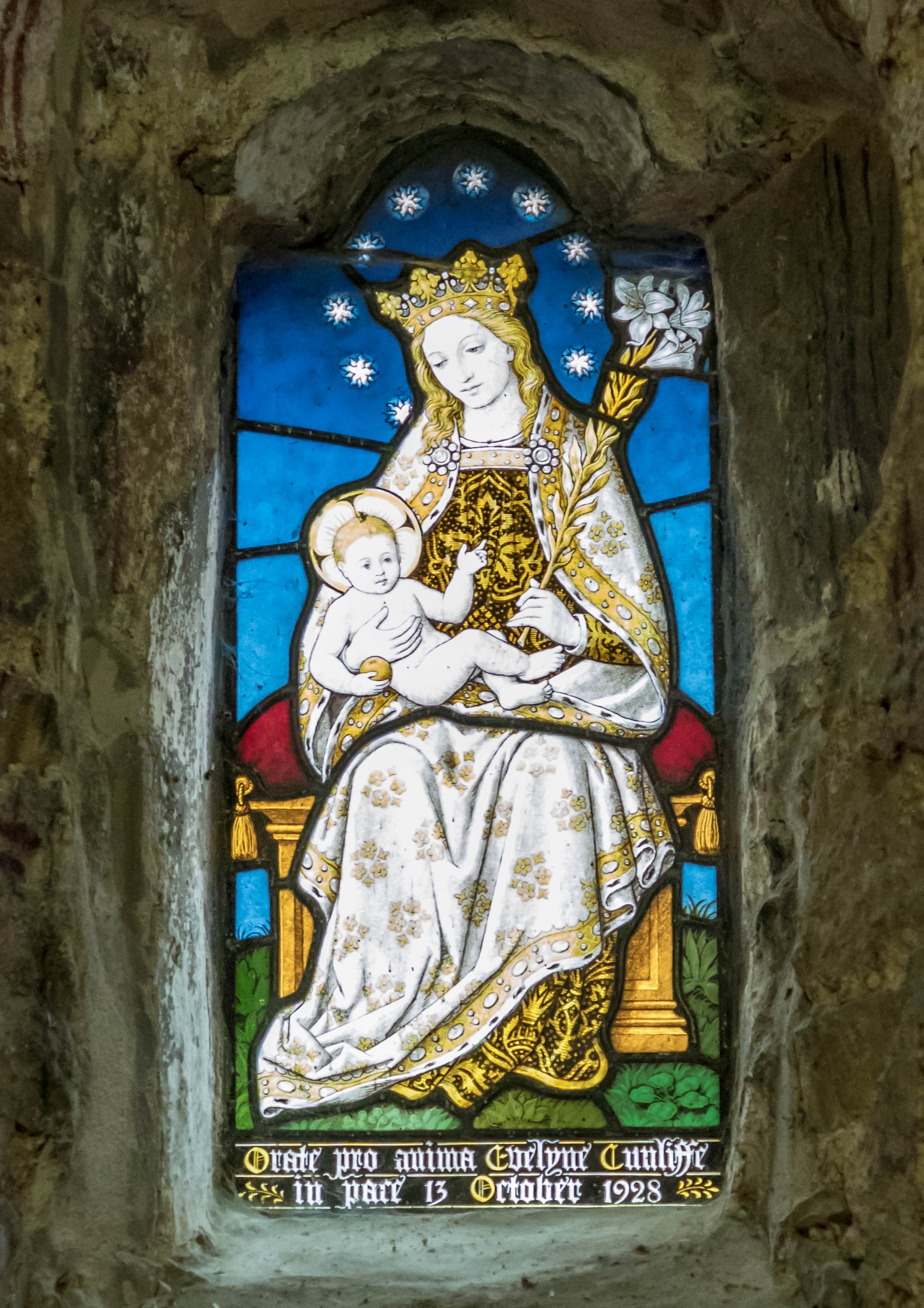 Stained Glass - Lotherton Chapel
