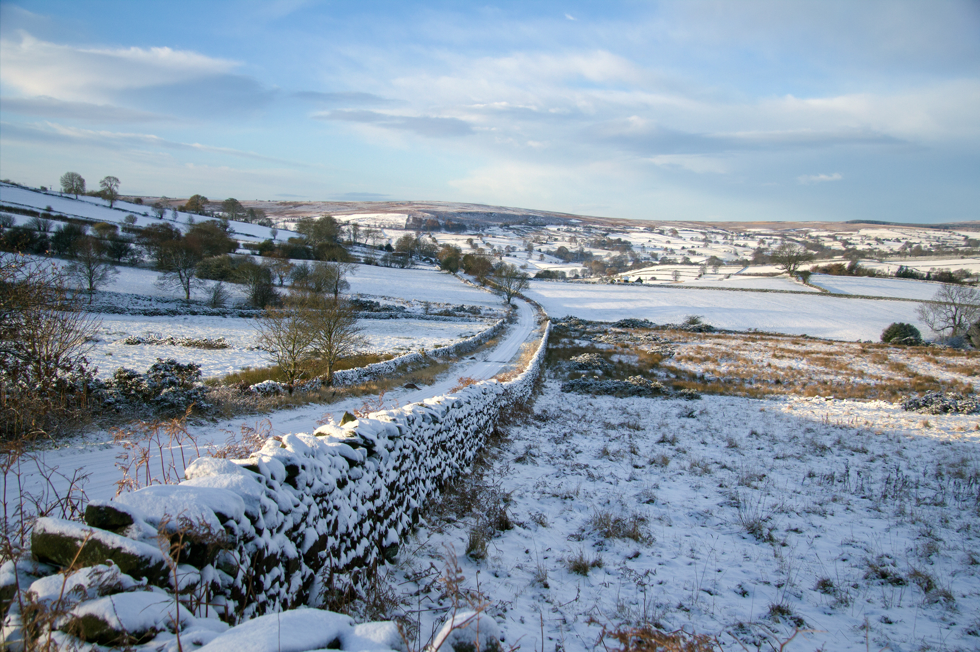 A wintery day in Wasburn Valley