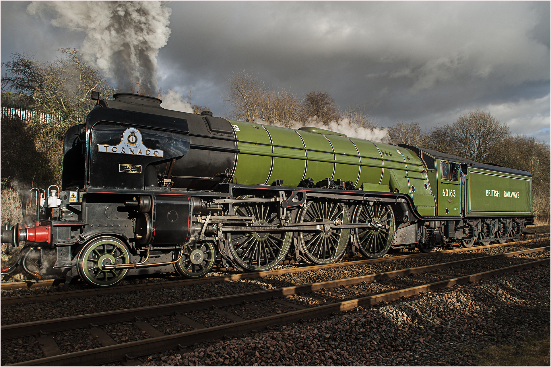 Tornado leaving Appleby