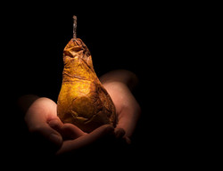 A pear of hands