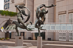 Atlanta Olympic Statues