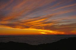 sunset, December, La Gomera, Canary Islands
