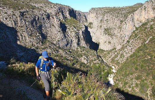 hiking Costa Blanca Spain
