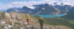 "www.ItalianAlpsHiking.com guides Kathy & Craig Copeland, authors of ""Don't Waste Your Time in the Canadian Rockies, the Opinionated Hiking Guide"""