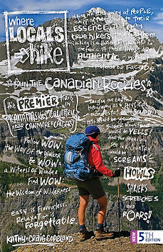 Where Locals Hike in the Canadian Rockies, 5th Edition