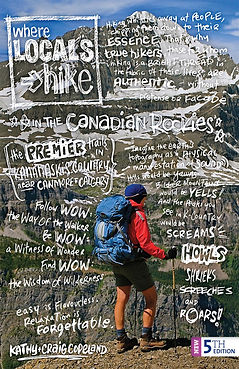 Where Loals Hike in the Canadian Rockies, 5th Edition