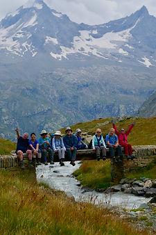 hiking Italian Alps