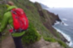 Canary Islands hiking trail