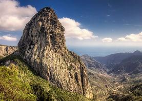 Roque de Agando , La Gomera, Canary Islands