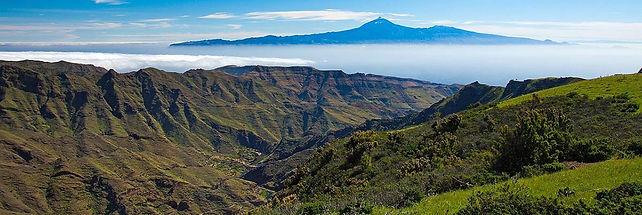 Mt. Teide, from La Gomera, Canary Islands