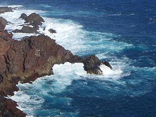 Canary Islands coastal hiking trail