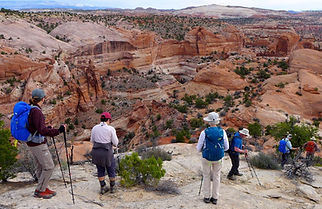hiking Grand Staircase—Escalante National Monument, near Boulder, Utah