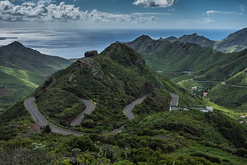 Canary Islands highway