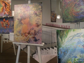 Выставка картин Жозефины Уолл «Сказка твоей жизни»