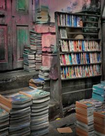 Книги в Рангуне (Yangon Books) Мьянма Тираж 15 экз. 91 х 71 см