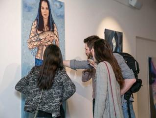 Выставка «Рождение» Эммы Цугунян