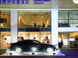 BMW 7 серии в арт-пространстве Exposed