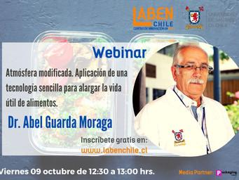Nuevo Webinar con el Dr. Abel Guarda Moraga