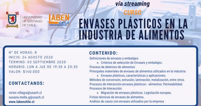 Envases plásticos en la industria de alimentos